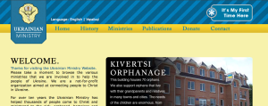 Ukrainian Ministry Website