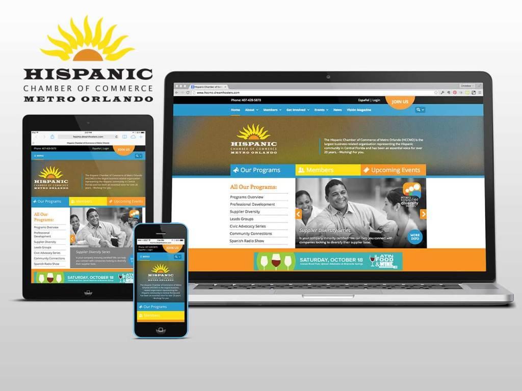 Hispanic Chamber of Commerce of Metro Orlando Website