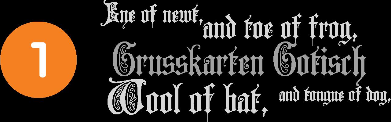 grusskarten-gotisch