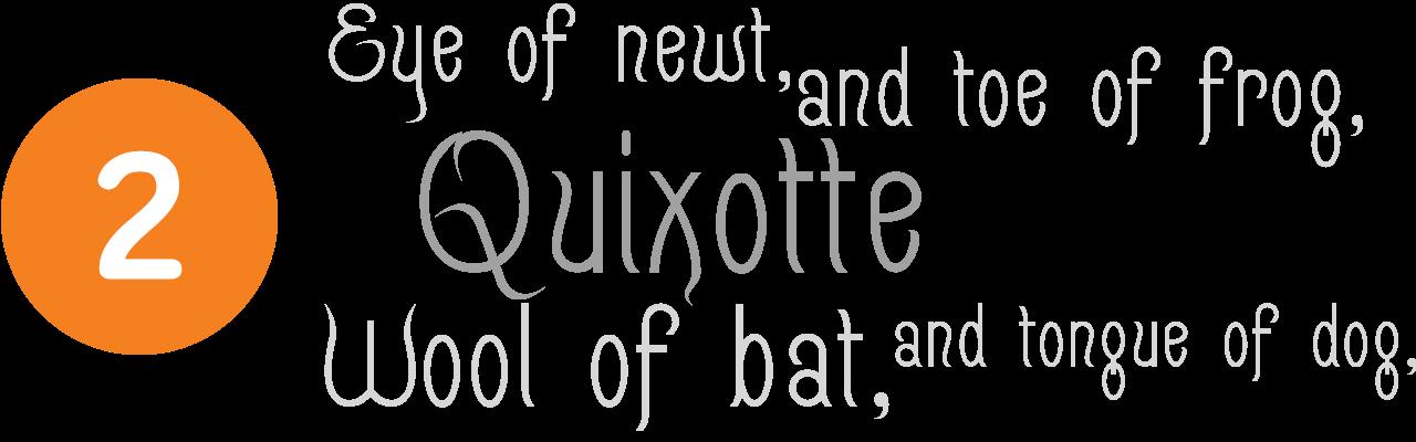 quixotte