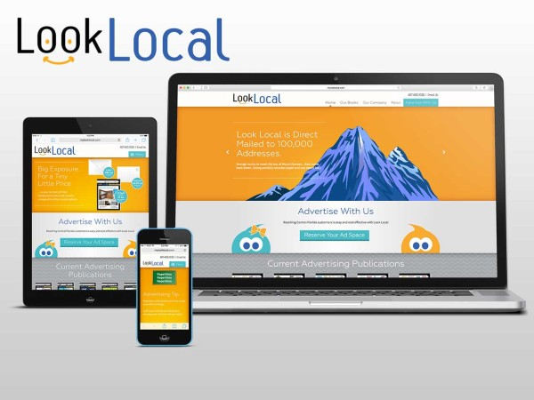 Look Local Responsive WordPress Website