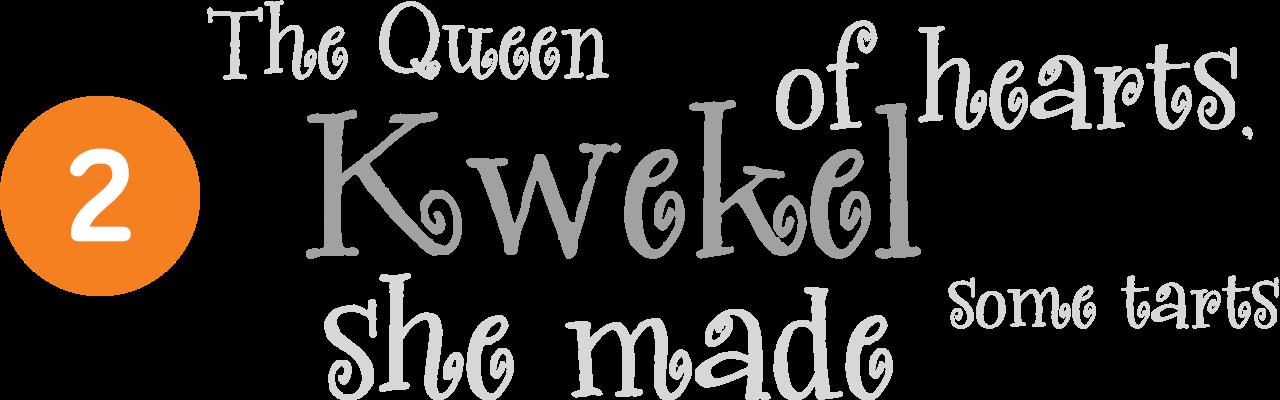 kwekel-font