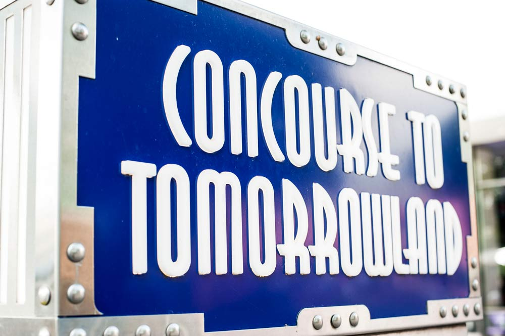 tomorrowland concourse to tomorrowland