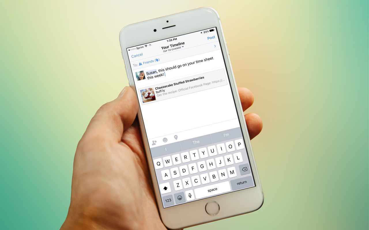 mobile-facebook-sharing